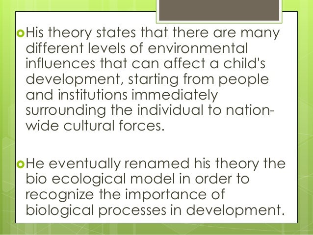 ecological systems theory limitations Cdc uses a four-level social-ecological model to better understand violence and the effect of potential prevention strategies¹ this model considers the complex.