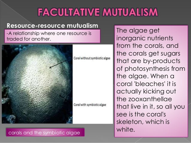 Mutualism and neutralism.