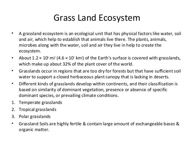 ecosystems and how they work essay Ecosystems and how they work choose 1 of the following ecosystems: tropical rainforest grassland coral reef estuary desert.