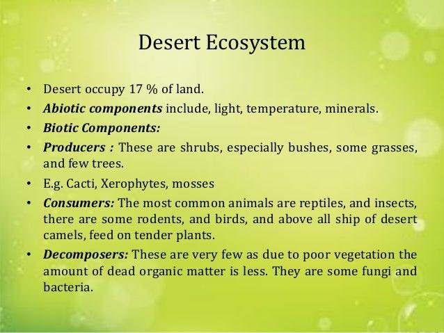 Biotic Factors in the Grassland Biome
