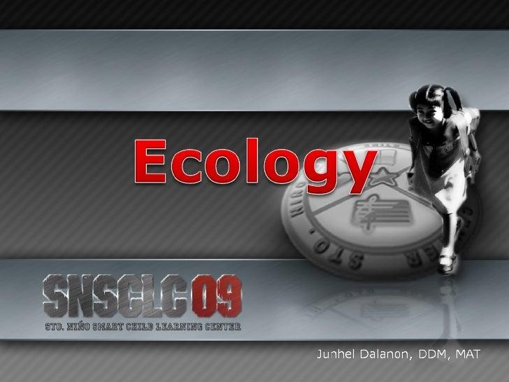 Ecology Slide 1
