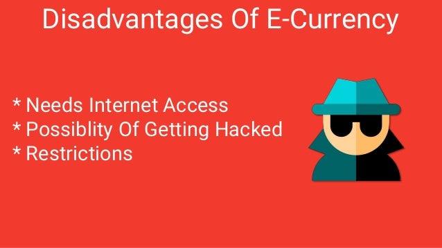 Electronic Money E Money Amp Security