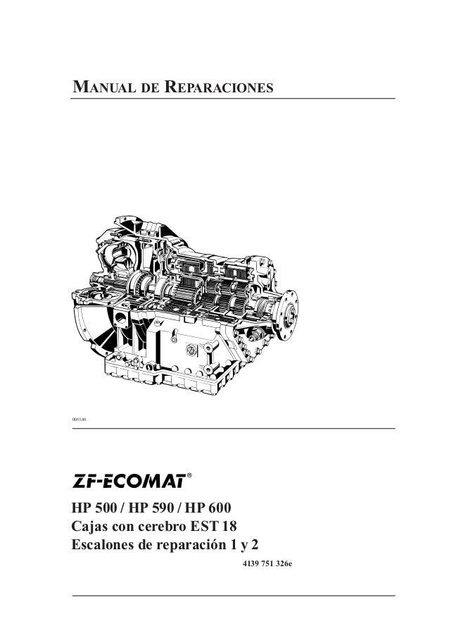 ecomat i manual repararo nivel i ii rh es slideshare net zf ecomat 5hp 600 manual zf ecomat 5hp 600 manual