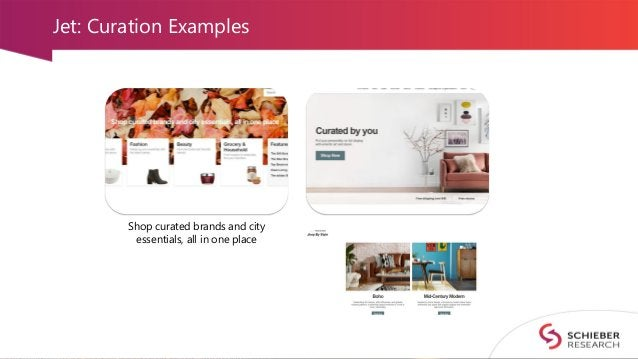 Jet: Curation Examples Shop curated brands and city essentials, all in one place