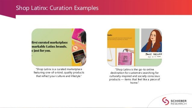 """Shop Latinx: Curation Examples """"Shop Latinx is a curated marketplace featuring one-of-a-kind, quality products that reflec..."""