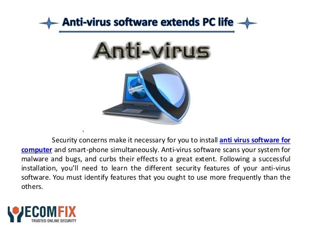 Importance Of Using Anti Virus Software For Computer Security