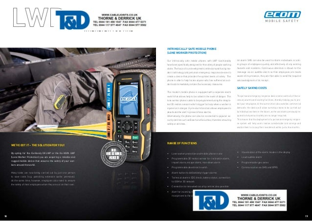 Ecom Hazardous Area ATEX Communications Product Catalogue
