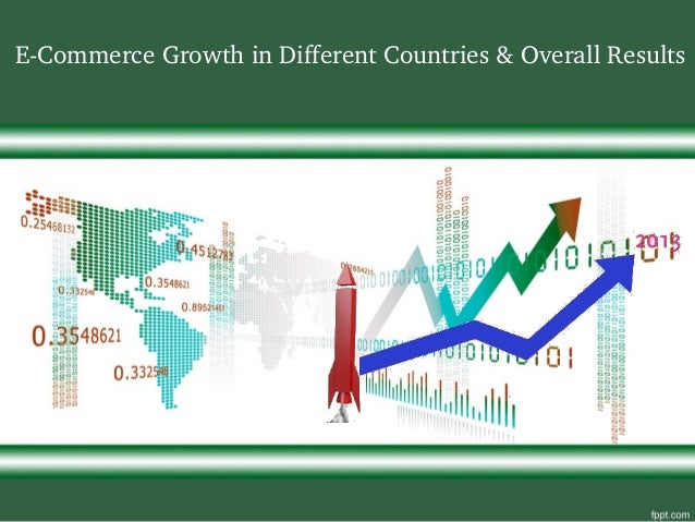 E­Commerce Growth in Different Countries & Overall Results