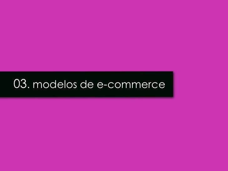 03. modelos de e-commerce