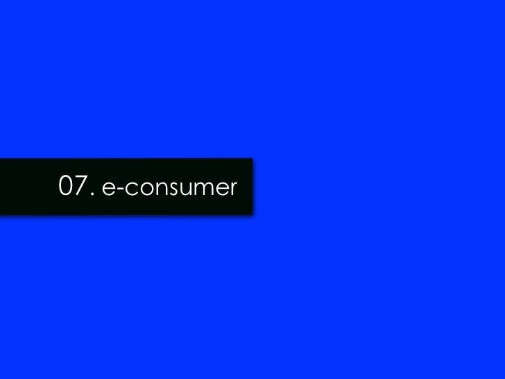 07. e-consumer
