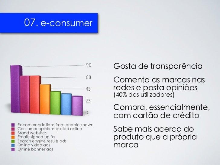 07. e-consumer                             90     Gosta de transparência                             68                   ...