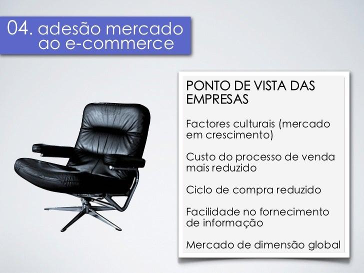 04. adesão mercado   ao e-commerce                     PONTO DE VISTA DAS                     EMPRESAS                    ...