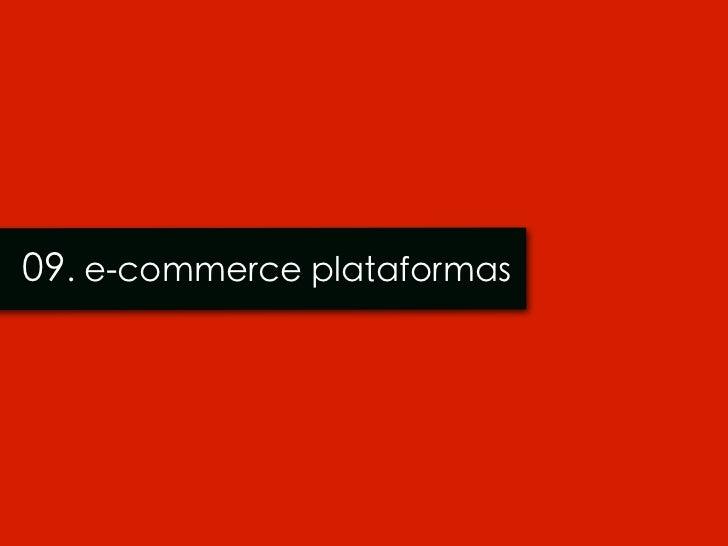 09. e-commerce plataformas