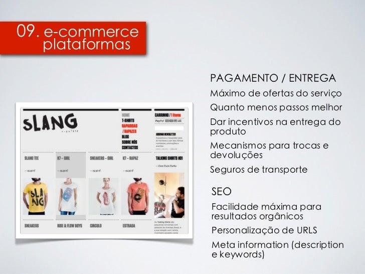 09. e-commerce  plataformas                 PAGAMENTO / ENTREGA                 Máximo de ofertas do serviço              ...