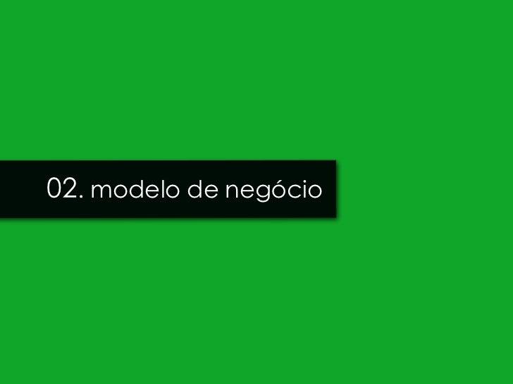 02. modelo de negócio