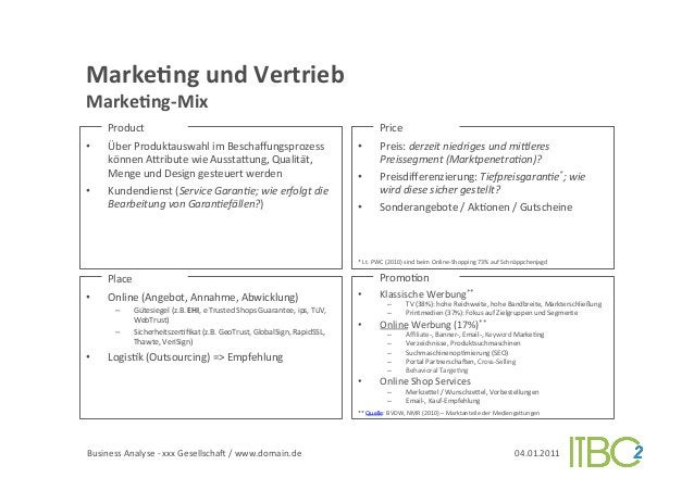 MarkeVng und Vertrieb          MarkeVng-‐Mix                 Product                                           ...