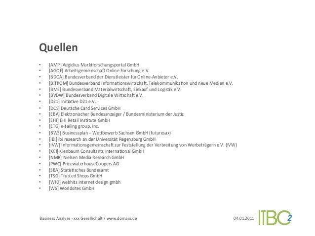 Quellen          •     [AMP] Aegidius Mark`orschungsportal GmbH          •     [AGOF] ArbeitsgemeinschaJ O...