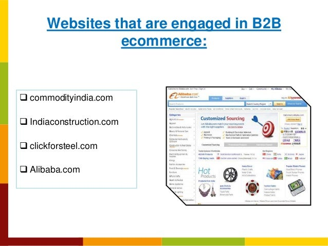 Ecommerce types and payment models Slide 3
