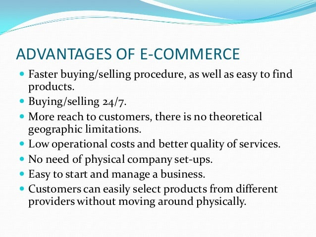 The advantages of self employed commerce essay