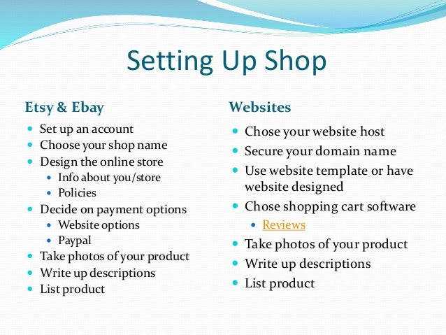 Ecommerce Building An Online Store - Online store policies template