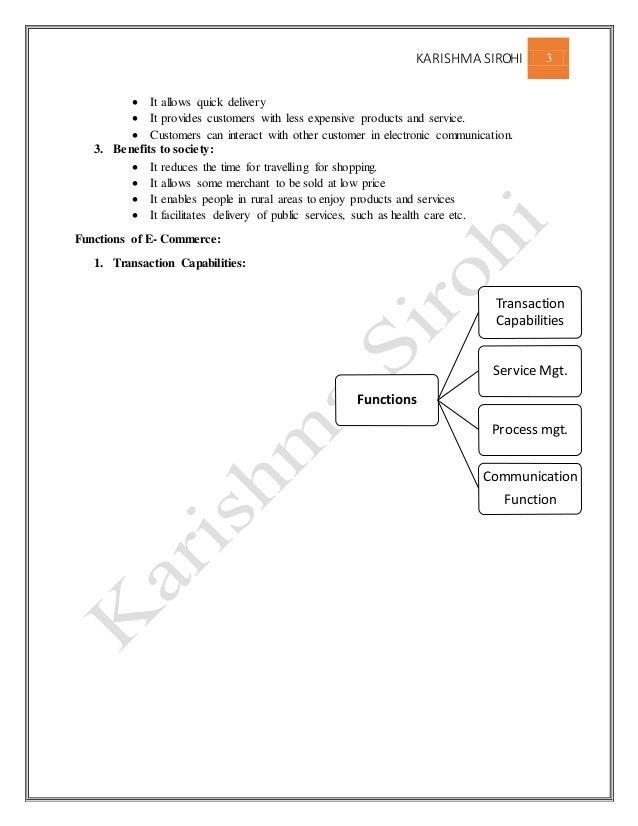 E commerce full notes for mba  Slide 3