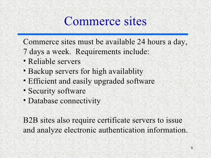 ecommerce hardware and software Lecture 4 managing hardware, software assets, data resources, and  5  hardware technology requirements for e-commerce and digital firm.