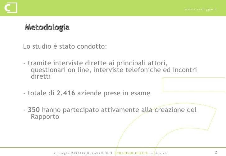 E-commerce in Italia 2008 - Casaleggio Associati Slide 2