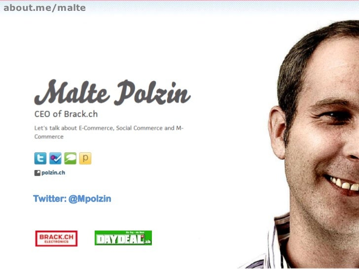 about.me/malte<br />Twitter: @Mpolzin<br />