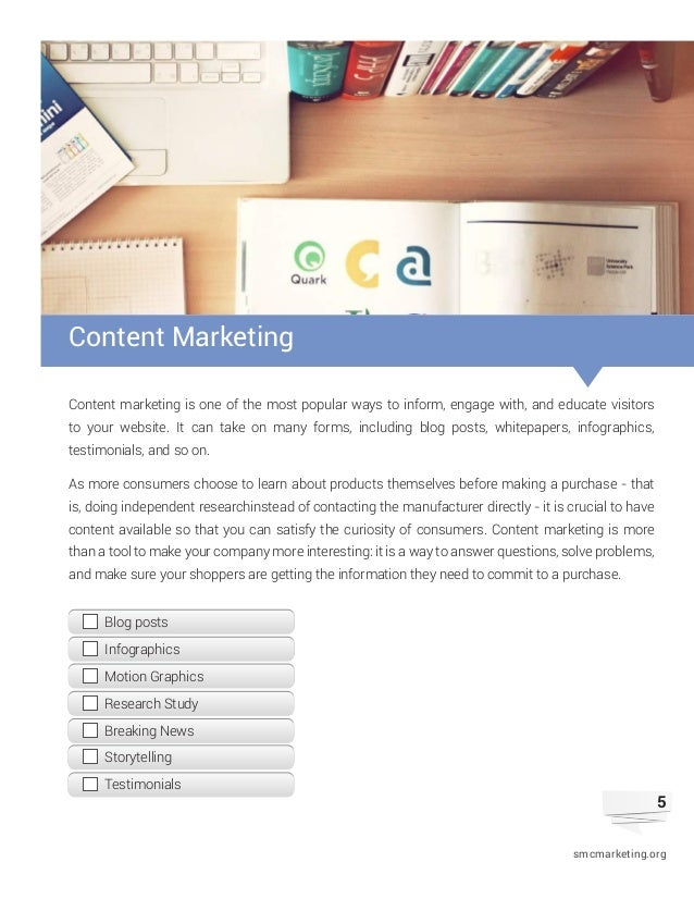 5 5 content marketing