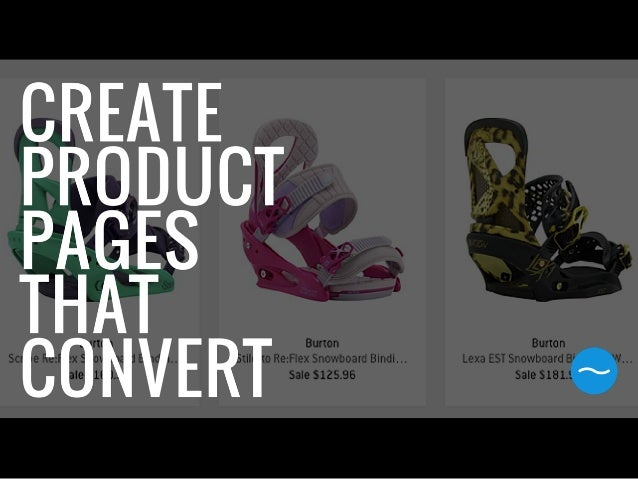 What style of ecommerce product pages have the highest conversion?