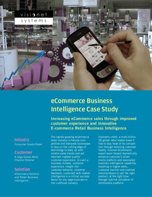 Business intelligence case study retail