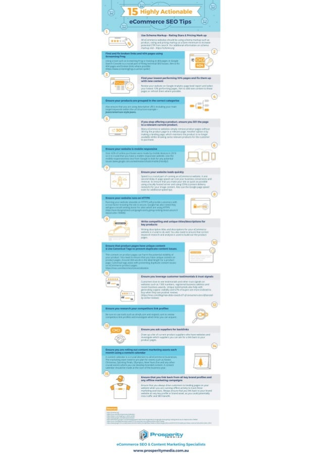 Australian eCommerce SEO Tips