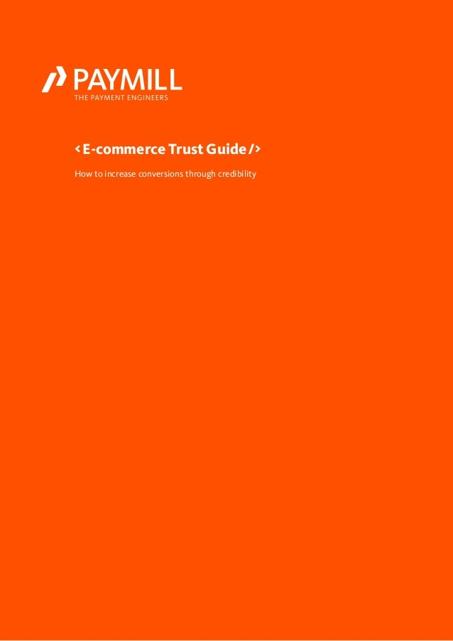 How to increase conversions through credibility < E-commerce Trust Guide  />