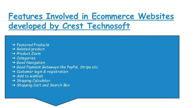Ecommerce websites from cts Slide 2