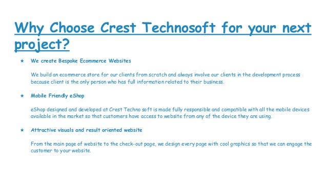 Ecommerce websites from cts Slide 3
