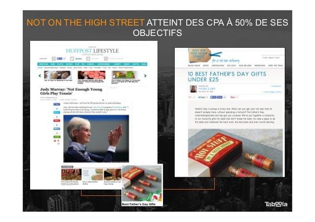 NOT ON THE HIGH STREET ATTEINT DES CPA À 50% DE SES OBJECTIFS