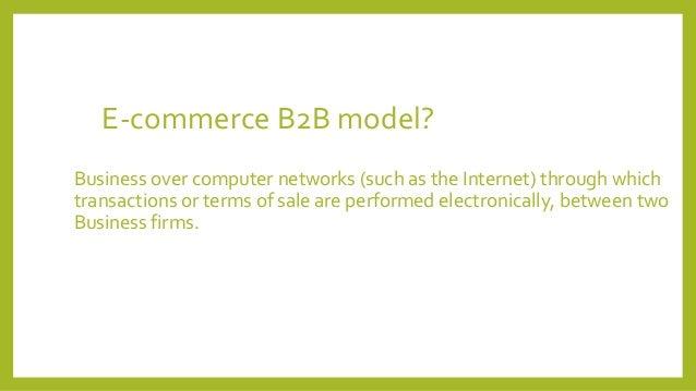 B2B and e-commerce Architecture Slide 2