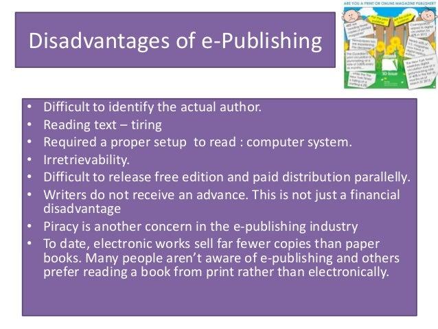 Ecommerce and online publishing