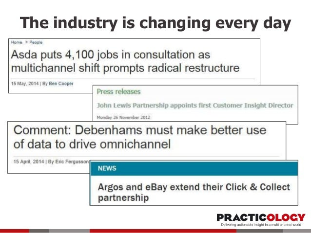 The industry is changing every day