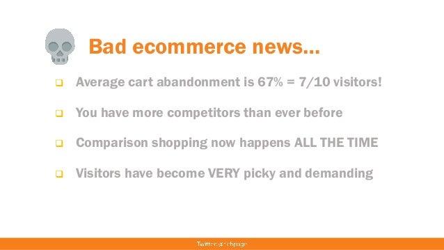 The 15 Biggest Ecommerce Website Conversion Killers Slide 3