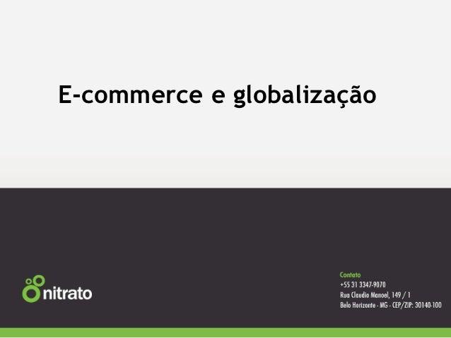 E-commerce e globalização