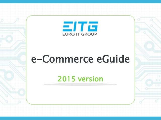 e-Commerce eGuide 2015 version