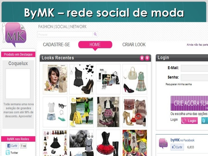 ByMK – rede social de moda