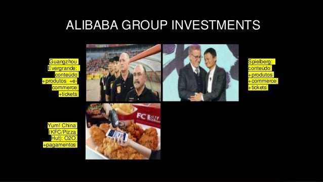 STARTUPS CHINESAS – OPORTUNIDADE OU RISCO? POR IN HSIEH / INHSIEH@GMAIL.COM ALIBABA GROUP INVESTMENTS Yum! China (KFC/Pizz...