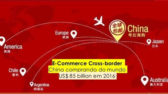 www.InHsieh.com Digital ChinaProxxima 2017 E-Commerce Cross-border China comprando do mundo US$ 85 billion em 2016