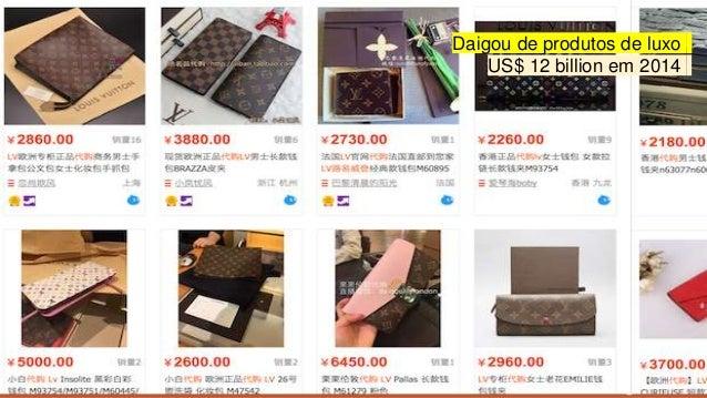 www.InHsieh.com Digital ChinaProxxima 2017 Daigou de produtos de luxo US$ 12 billion em 2014