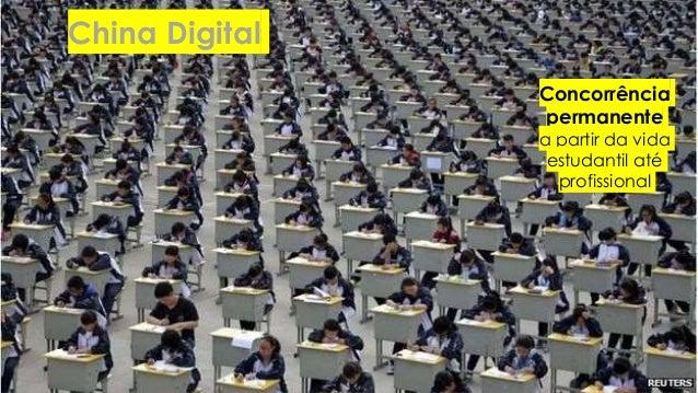 China Digital Concorrência permanente a partir da vida estudantil até profissional