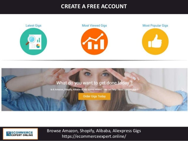 Ecommerce Expert Online - Browse Amazon, Shopify , Alibaba gigs