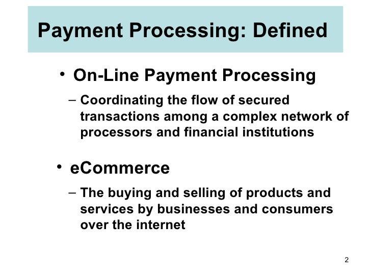 E commerce infrastructure Slide 2