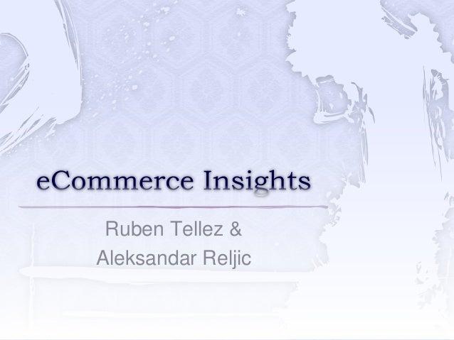 Ruben Tellez & Aleksandar Reljic